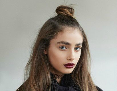 {Trend Inspiration} | Half-up Top Knot