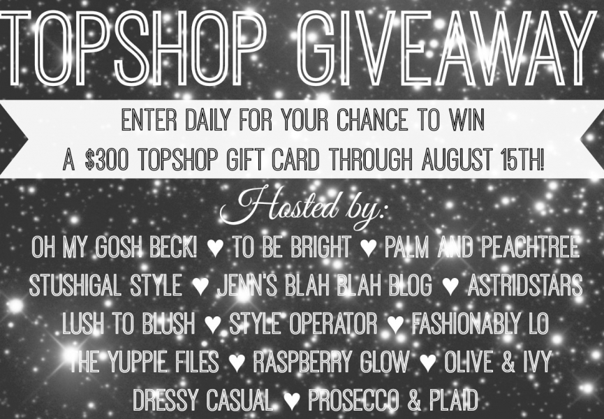{$300 Top Shop Giveaway}