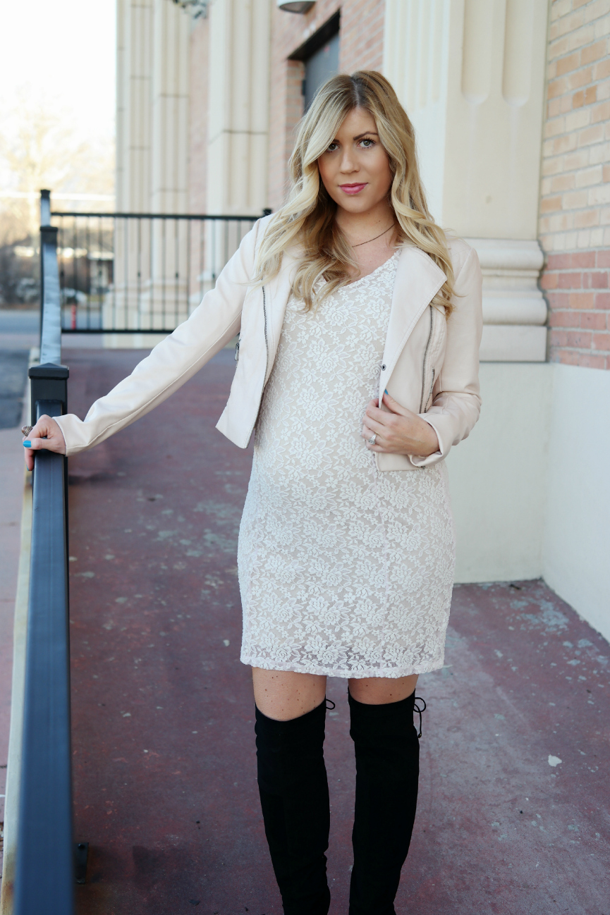 Jessica simpson short sleeve lace maternity dress jessica simpson maternity dress motherhood maternity pink leather jacket ombrellifo Images