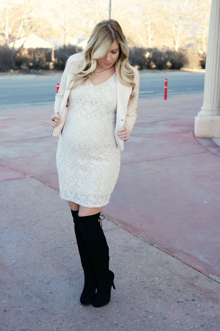 Jessica simpson short sleeve lace maternity dress white lace maternity dress jessica simpson maternity dress motherhood maternity pink leather jacket ombrellifo Image collections