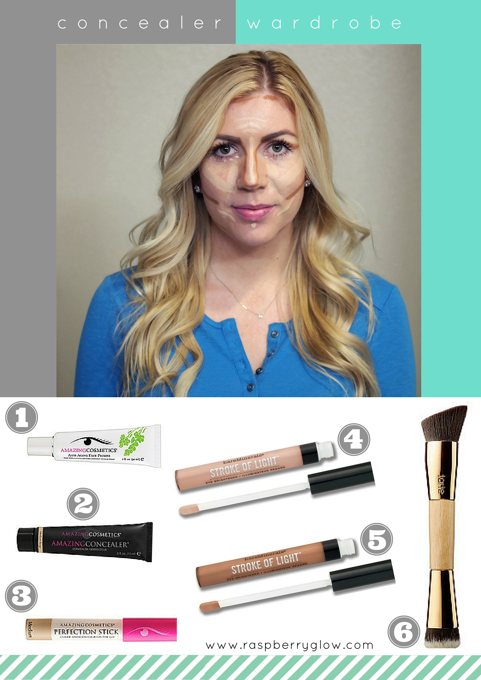 Different Uses For Concealers