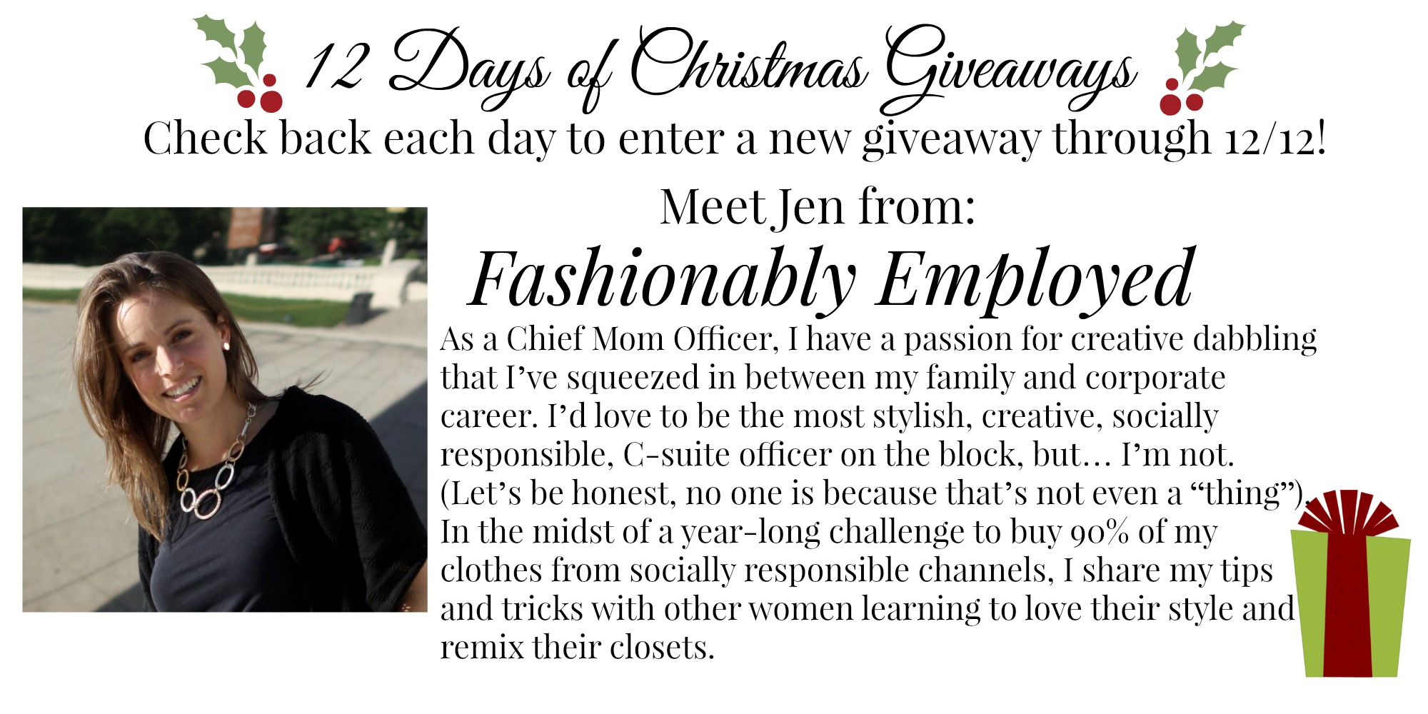 {12 Days of Christmas Giveaways} | Day 4, 5, 6 & 7