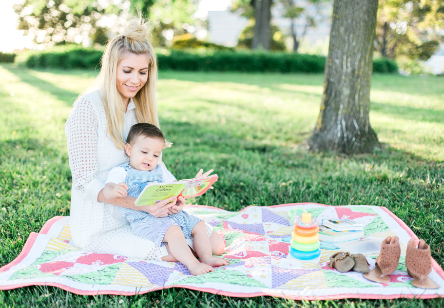 {Park Days with Stitched Quilts}