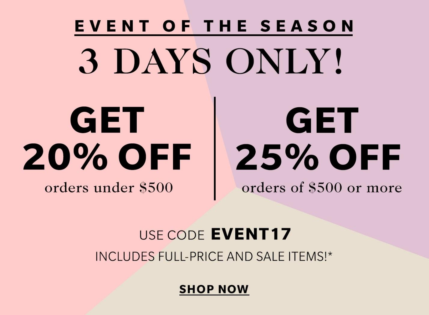 {Another Shopbop Sale!}