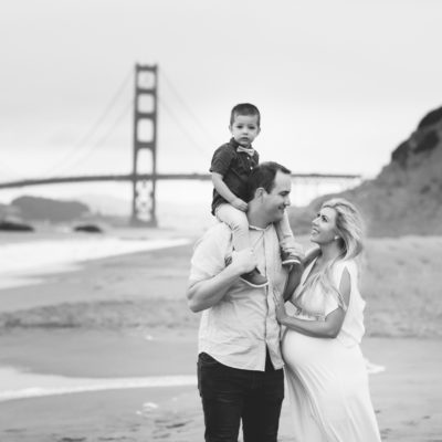 {Baker Beach Family Photos} | Tarah Photography