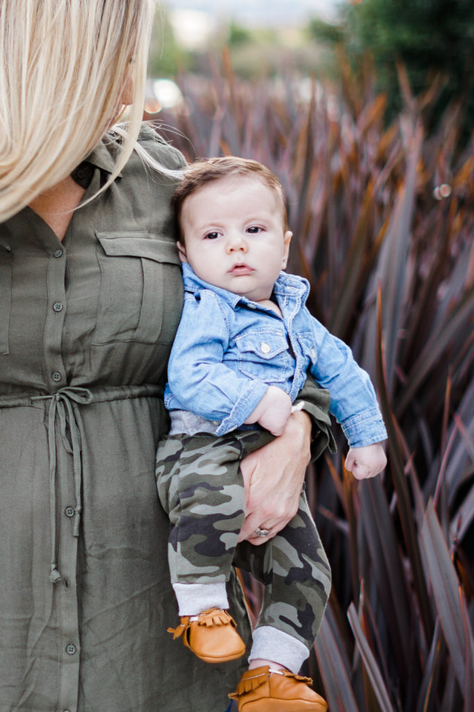 camo green mommy and me