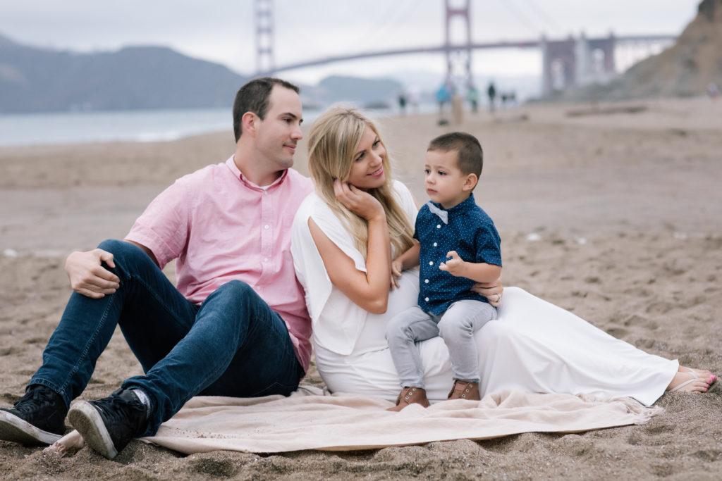 Maternity photo shoot, beach family photo shoot